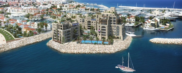 Limassol Marina - Castle Residences - 61 luxury apartments surrounded by water